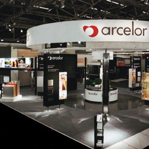 ARCELOR trade fair stand