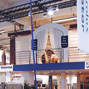 ELECTROLUX trade fair stand