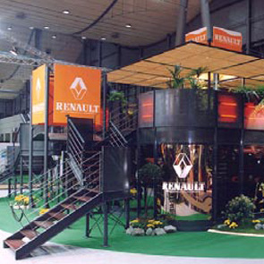 Renault trade fair stand
